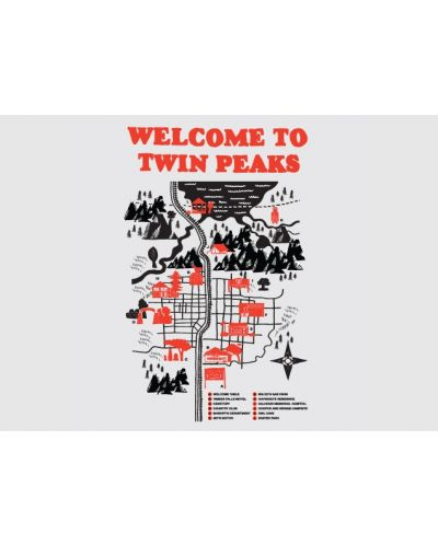 Threadless Welcome to Twin Peaks - M - 4