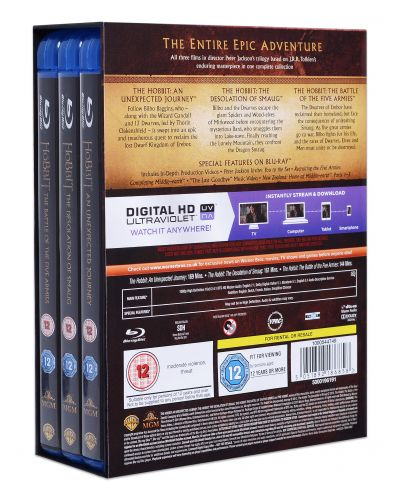 The Hobbit - The Motion Picture Trilogy (Blu-Ray) - 3