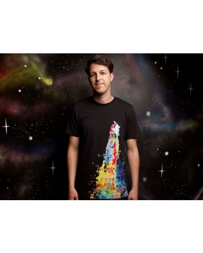 Threadless Space Needs Color - мъжка S - 3