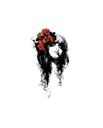 Threadless Rose Marry - дамска L - 3