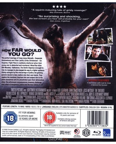 The Tortured (Blu-Ray) - 2