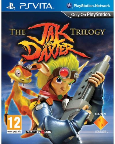 The Jak and Daxter Trilogy (PS Vita) - 1