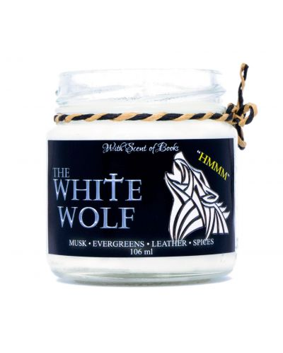 Ароматна свещ The Witcher - The White Wolf, 106 ml - 1