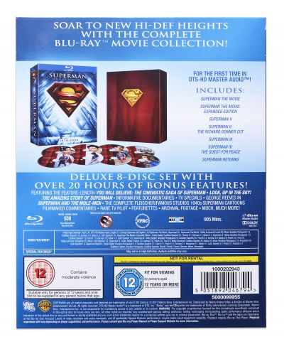 The Superman Motion Picture Anthology 1978-2006 (Blu-Ray) - 3