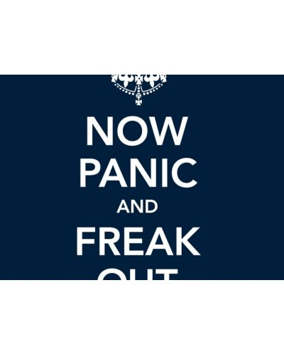 Threadless Now Panic and Freak Out - мъжка S - 2