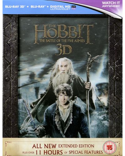 The Hobbit: The Battle Of The Five Armies - Extended Edition - 3D+2D (Blu-Ray) - 3