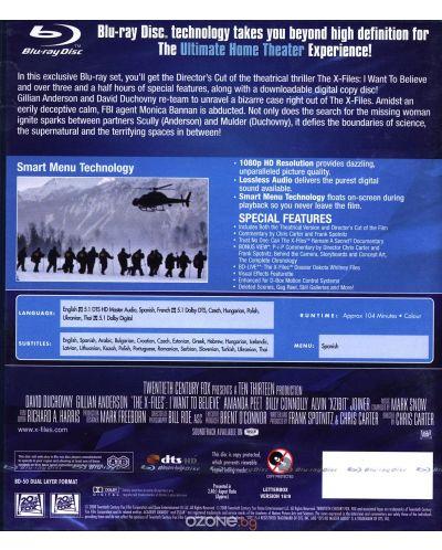 Досиетата Х: Искам да повярвам (Blu-Ray) - 3