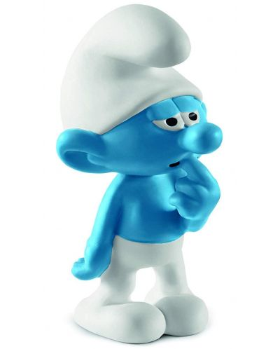 Фигурка Schleich The Smurfs - Смърф Непохватен - 1