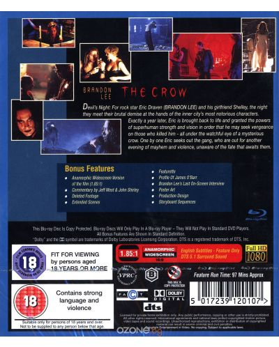 Crow - Collector's Edition (Blu-Ray) - 2