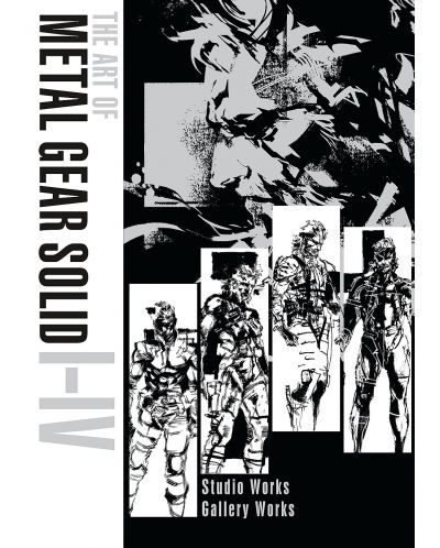 The Art of Metal Gear Solid I-IV (Collectable slipcase Hardcover) - 1
