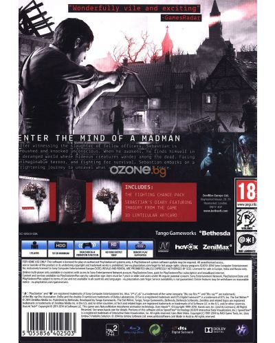 The Evil Within Limited Edition (PS4) - 13