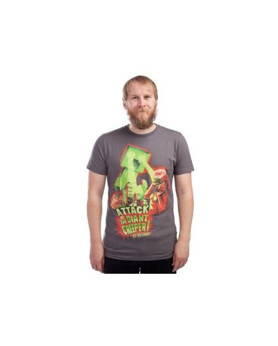 Threadless Attack of the Giant Creeper - мъжка M - 2