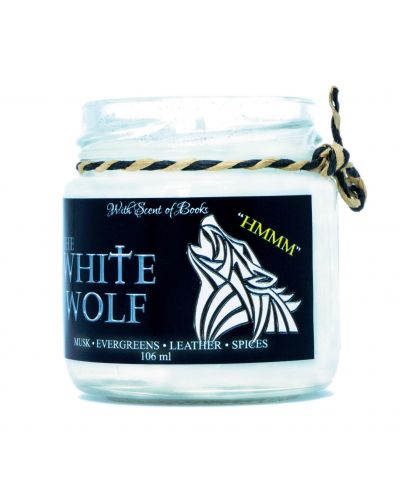 Ароматна свещ The Witcher - The White Wolf, 106 ml - 2