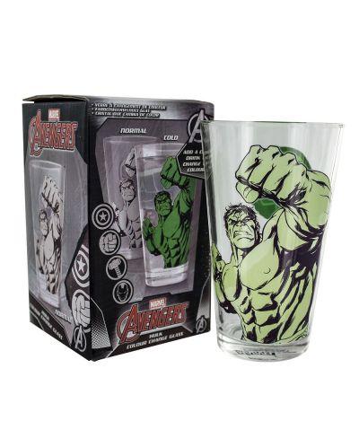 Чаша с термо ефект Paladone - The Hulk - 1
