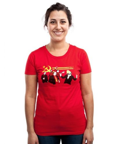 Threadless The Communist Party - дамска M - 1