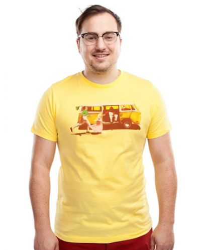 Threadless Sunshine - мъжка S - 1