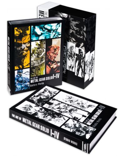 The Art of Metal Gear Solid I-IV (Collectable slipcase Hardcover) - 4