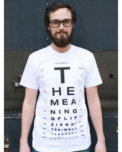 Threadless The Meaning of Life - XL - 1