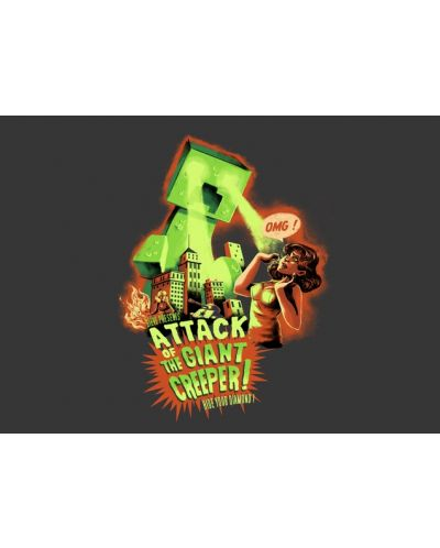 Threadless Attack of the Giant Creeper - мъжка M - 3