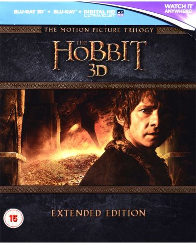 The Hobbit Trilogy - Extended Edition 3D+2D (Blu-Ray) - 2