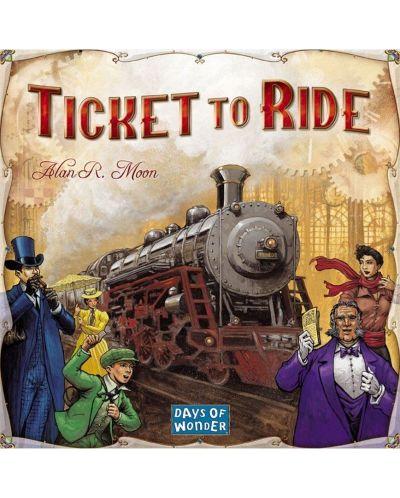 Настолна игра Ticket to Ride - 3