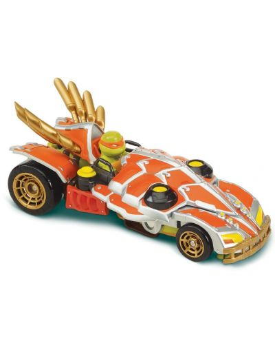 Делукс фигурка Playmtes - Костенурките нинджа, трансформираща се в кола - 3