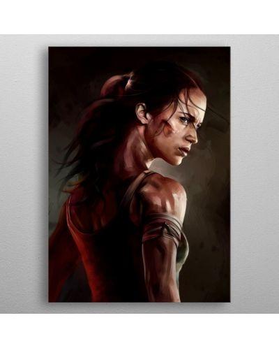 Метален постер Displate - Tomb Raider - 3