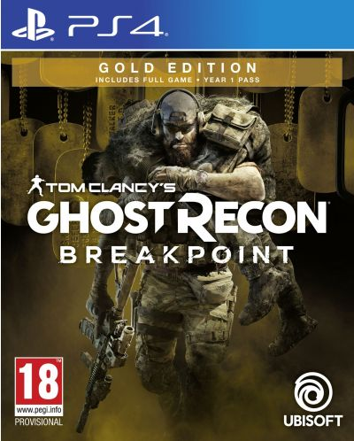 Tom Clancy's Ghost Recon Breakpoint - Gold Edition (PS4) - 1