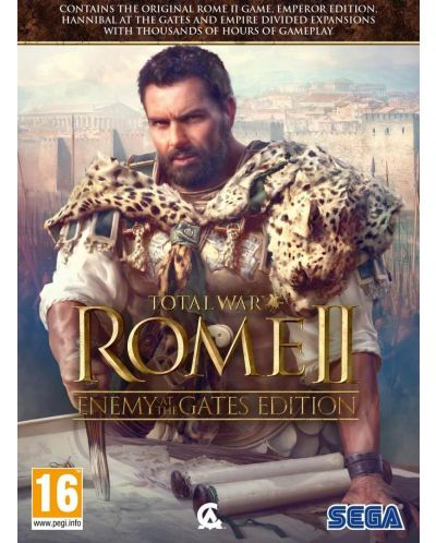 Total War Rome II: Enemy At the Gates Edition - 1