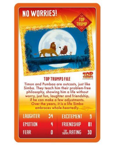 Игра с карти Top Trumps - Lion King - 3
