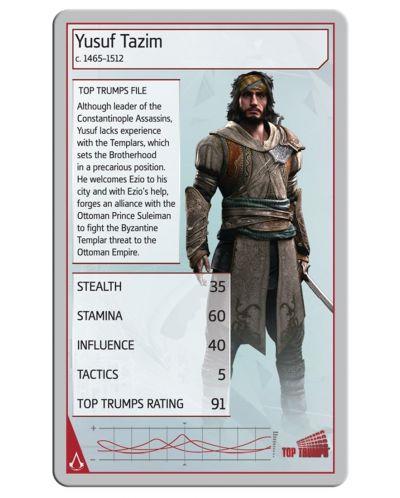 Игра с карти Top Trumps - Assassin's Creed - 3