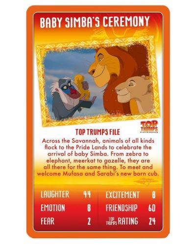 Игра с карти Top Trumps - Lion King - 4