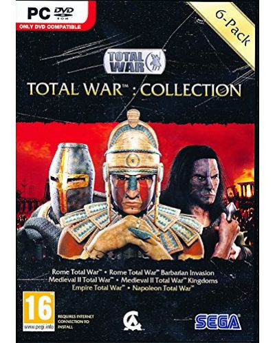 Total War: 6 Game Collection (Rome+Barbarian/Medieval II+Kingdoms/Empire/Napoleon) (PC) - 1