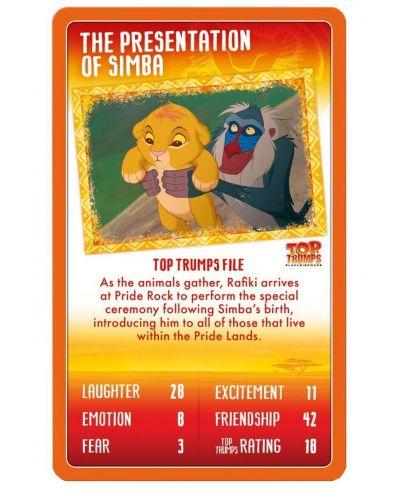 Игра с карти Top Trumps - Lion King - 2