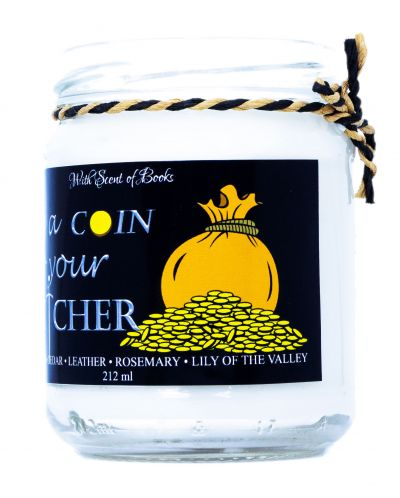 Ароматна свещ The Witcher - Toss a Coin to Your Witcher, 212 ml - 2