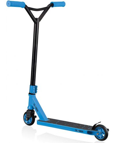 Тротинетка Globber - Stunt Scooter GS 540, Черно/ Синя - 2