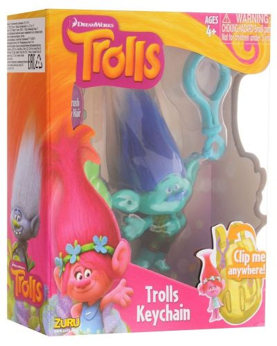 Ключодържател Zuru - Trolls, асортимент - 6