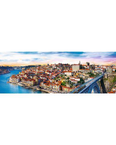 Панорамен пъзел Trefl от 500 части - Порто, Португалия - 1