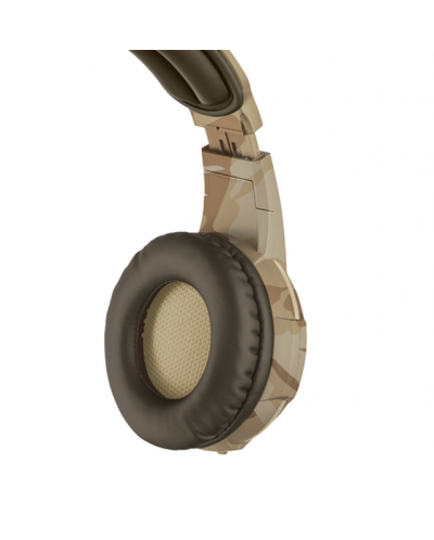 Гейминг слушалки Trust GXT 310D Radius - desert camo - 2