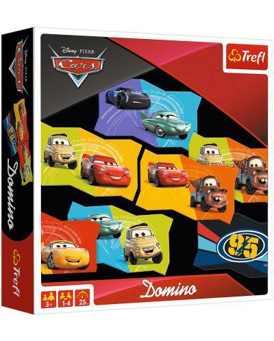 Детска игра Trefl - Домино, Колите 3 - 1
