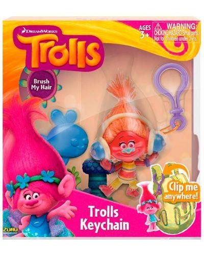 Ключодържател Zuru - Trolls, асортимент - 1