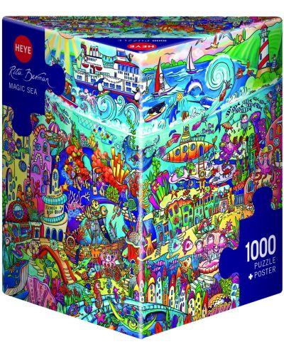 Пъзел Heye от 1000 части - Вълшебно море, Рита Берман - 1