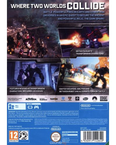 Transformers: Rise of the Dark Spark (Wii U) - 4