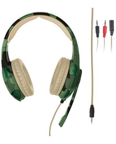 Гейминг слушалки Trust GXT 310C Radius - jungle camo - 2