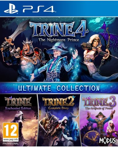 Trine - Ultimate Collection (PS4) - 1
