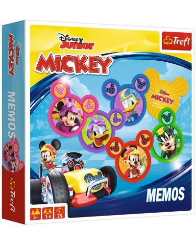 Детска мемо игра Trefl - Мики Маус - 1