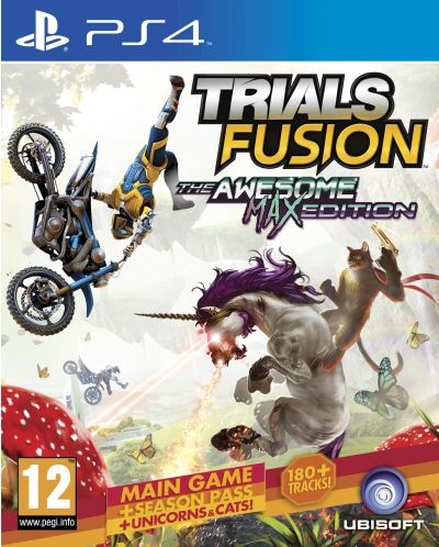 Trials Fusion The Awesome Max Edition (PS4) - 1