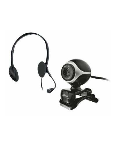 TRUST Exist Chatpack (Webcam+Headsets) - 1