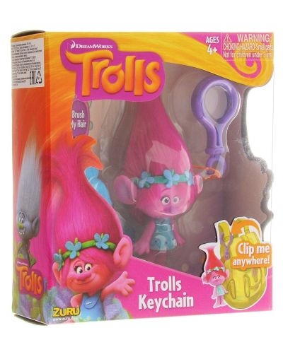 Ключодържател Zuru - Trolls, асортимент - 3