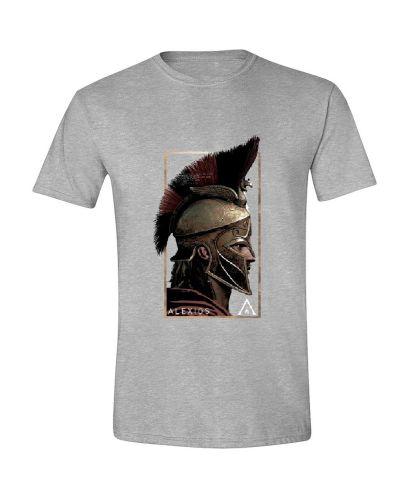 Тениска Timecity Assassin's Creed Odyssey - Alexios Side, сива - 1